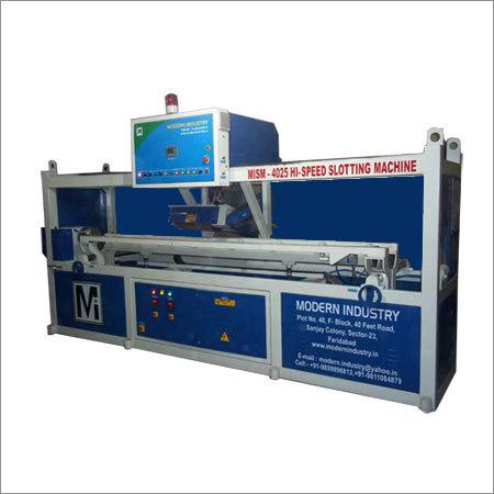 Plastic Slotting Machine