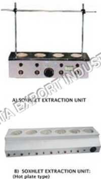 SOXHLET EXTRACTION UNIT (Mantel type)