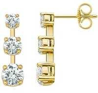 Ag Real Diamond Clock Lolak Fashion Earring # AGSE0001