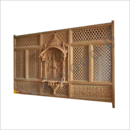 Royal Wooden Jharokha