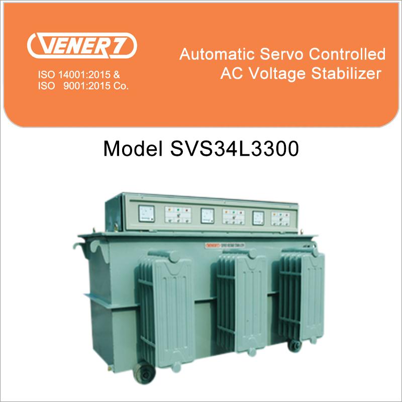 300Kva Servo Voltage Stabilizer Oil Cooled Certifications: Is 9815