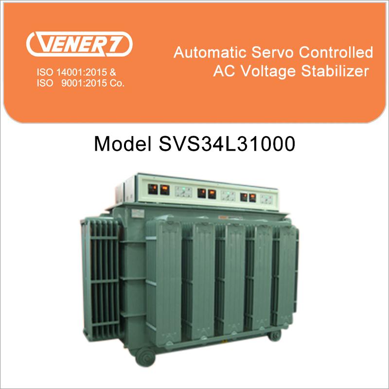 1000Kva Servo Voltage Stabilizer Oil Cooled Certifications: Is 9815
