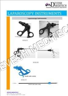 Laparoscopy Equipments & Instruments