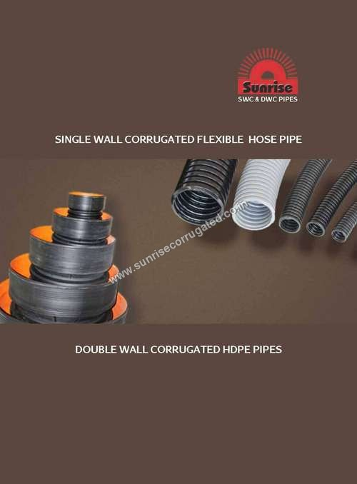 DOUBLE WALL CORRUGATED HDPE PIPES (DWC)