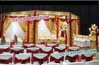 Wedding Golden Zali Mandap