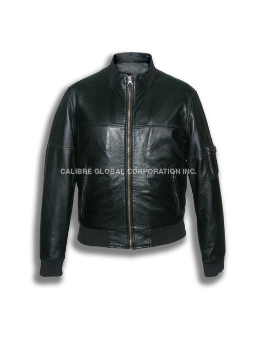 Sheep Leather Black Jacket