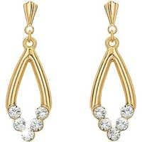 Ag Real Diamond Fancy Dangling Shape Earring # AGSE0130