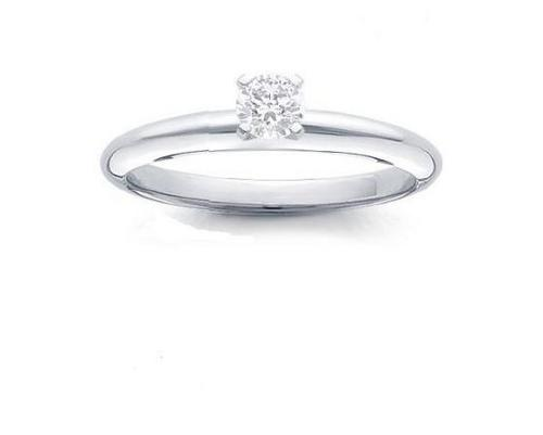 Real Diamond Solitaire Ring