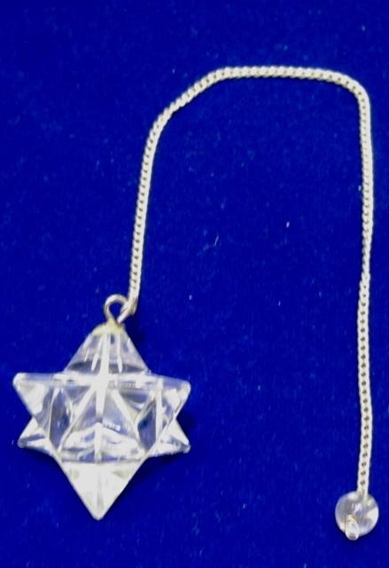 Natural Quartz Crystal Merkaba