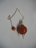 Red Carnelian Ball Shape