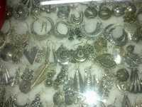 semi precious silver jewellary of india