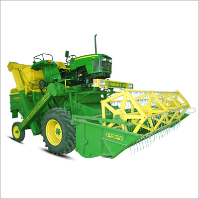 Tractor Mounted Harvester Combine