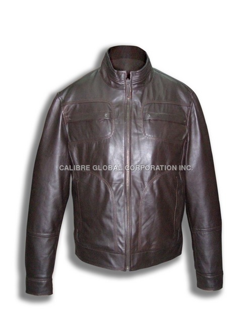 Sheep Nappa Brown Jacket