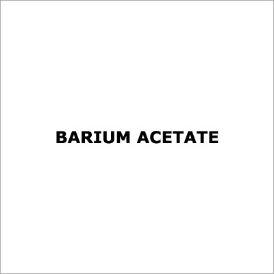 Barium Acetate