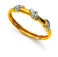 Ag Real Diamond Stone Fancy Enchanting Band Ring # AGSR0053
