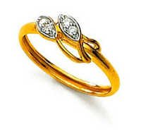 Ag Real Diamond Stone Oval Shape Ring # AGSR0055