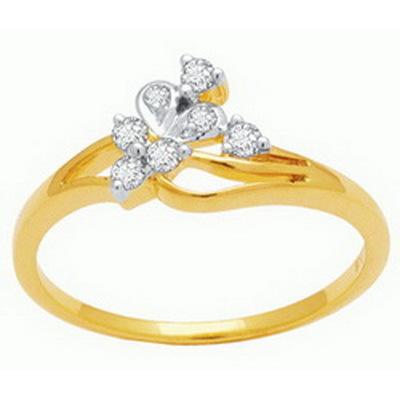 Ag Real Diamond Stone Beautiful Classic Fashion Ring # AGSR0060