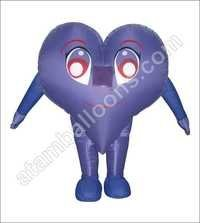 Heart Shape Mascot Balloon