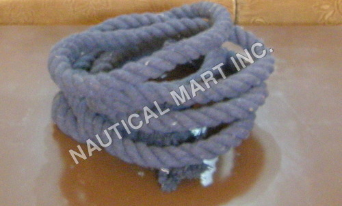 NAUTICAL VINTAGE HOME DECOR COTTON GRAY ROPE