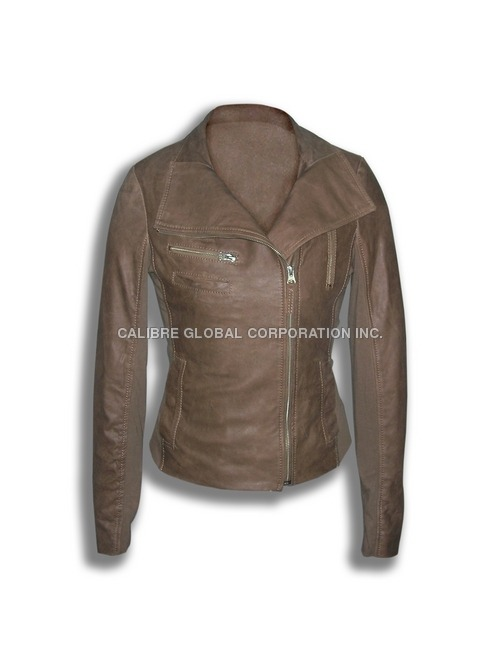 Goatskin Leather Jacket