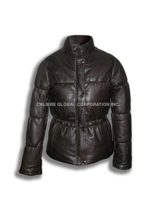 Ladies Nappa Leather Jacket