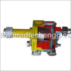 Cut Section Model Of Oil Pump External