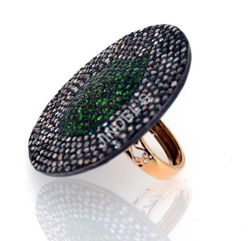 Diamond Pave Studded Ring