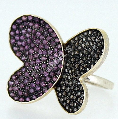 Elegant Pave Diamond Ring