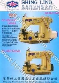 Highspeed New Generation Zipper Sewing Machine