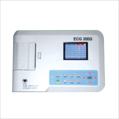 Three Channel ECG Color Screen Machines