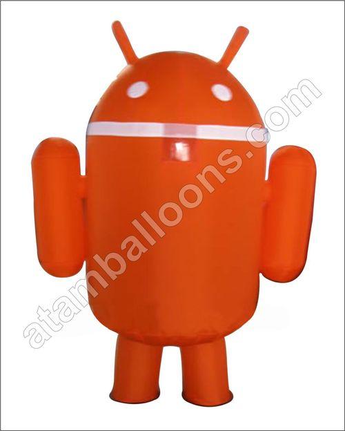 Android Shape Mascot Balloon