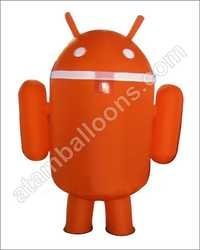 Android Shape Mascot Balloon
