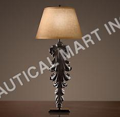 ACANTHUS LEAF ARTIFACT LAMP