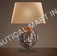 LION ARTIFACT TABLE LAMP