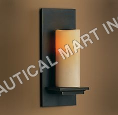 PILLAR CANDLE SCONCE