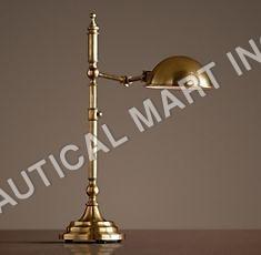 FRANKLIN PHARMACY TASK TABLE LAMP ANTIQUE BRASS
