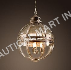 VICTORIAN HOTEL PENDANT POLISHED NICKEL
