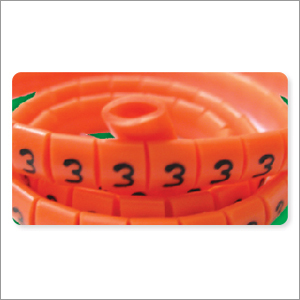 Oval Shape Cable Markers Ert Type