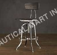 VINTAGE TOLEDO CHAIR POLISHED CHROME