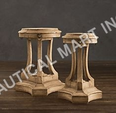 LION'S HEAD SIDE TABLES