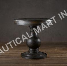 VINTAGE FOYER PEDESTAL TABLE