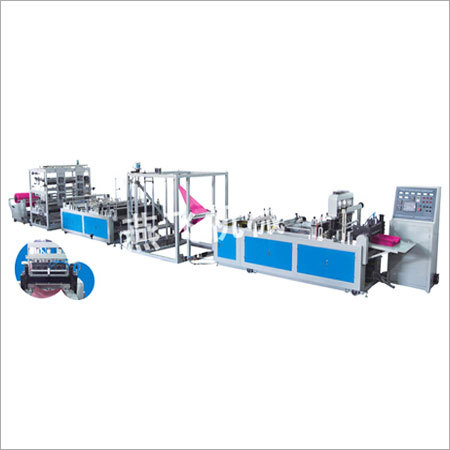 Printing, Molding Integration Non-Woven Bag Making Machine