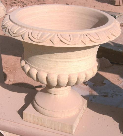Sandstone Handicraft Pot