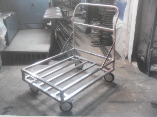 Platform Trolley with side support