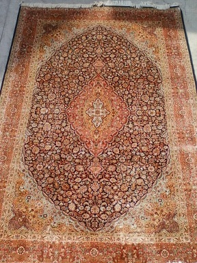 Silk Embroidered Carpets