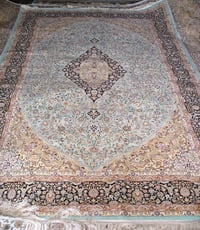 Hand Tufted Silk Carpet