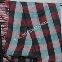 100 % Wool Yarn Dyed Check Fabric