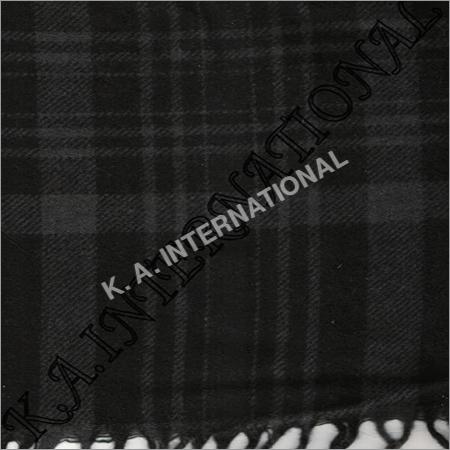 Black Grey Ckeck Throw Blankets