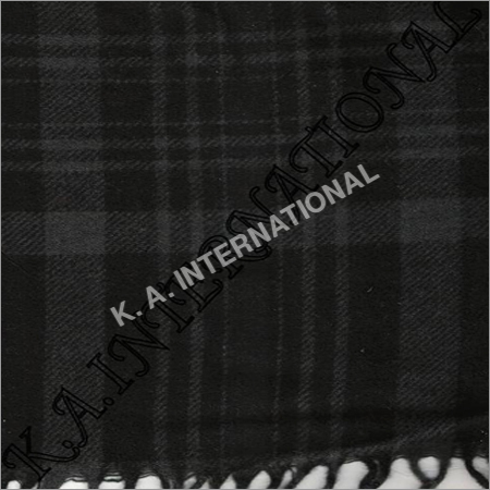 Black Grey Ckeck Throw Blankets