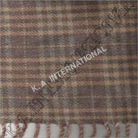 Lambs Wool Check Throw Blanket
